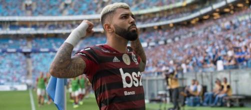 Gabigol, do Flamengo (Divulgação/Flamengo)