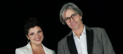 Giovanna D'Angi e Luca Madonia: duetto nel singolo Senza paracadute.