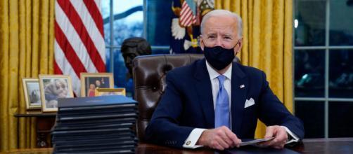 President Joe Biden in the Oval Office (Imagem source: Handout/The White House)