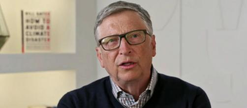 """Bill Gates came out with """"How to Avoid a Climate Disaster"""" this month (Image source: The Late Show with Stephen Colbert/YouTube)"""
