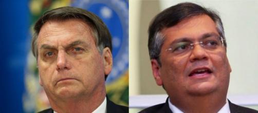 Flávio Dino crítica Jair Bolsonaro. (Foto: Arquivo Blastingnews)