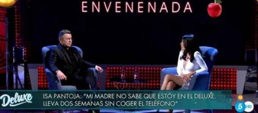 Jorge Javier Vázquez e Isa Pantoja en 'Sábasdo Deluxe'
