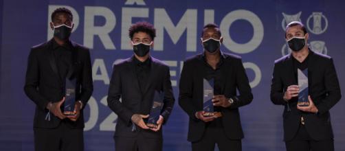 Prêmio Brasileirão 2020 aconteceu nesta sexta. (Arquivo Blasting News)