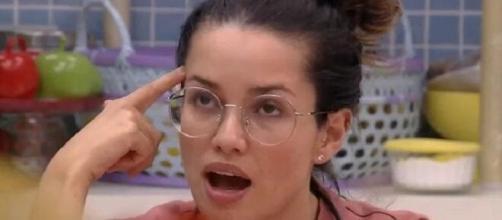 Juliette desabafa no 'BBB21'. (Reprodução/TV Globo)
