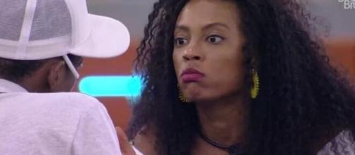 Lumena se irrita com Lucas no 'BBB 21'. (Reprodução/TV Globo)