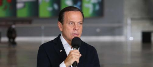 O governador Dória pediu direito de resposta na rádio Jovem Pan. (Arquivo Blasting News)