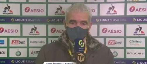 Raymond Domenech humilie un journaliste de Téléfoot après une question sur sa carrière. ©capture écran