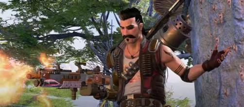 The latest addition to the Apex Legends roster is a guy called Fuse. [©Apex legends/YouTube]