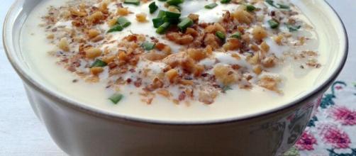 Deliciosa sopa de nuez para el invierno