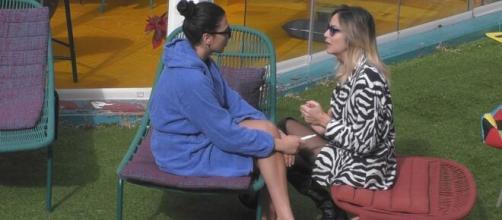 GF Vip, Stefania Orlando a Giulia: 'Sarà molto difficile venerdì, dovrò deludere qualcuno'.