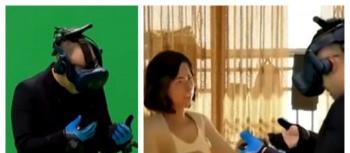 La realidad virtual es usada por segunda vez en un Reality coreano para producir un reencuentro con una persona fallecida