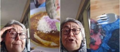 La señora ha reaccionado a varias recetas de paellas en TikTok