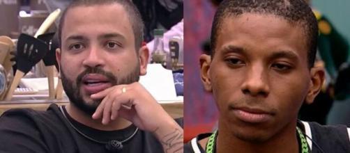 Projota pretende tramar para que Lucas vá para a berlinda do 'BBB 21'. (Foto: Globo).