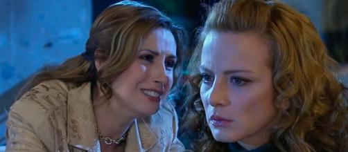 Renata descobre toda a verdade. (Reprodução/Televisa)
