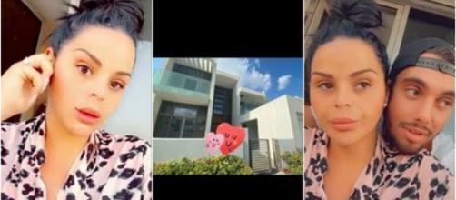 Sarah Fraisou et Ahmed (La Bataille des Couples 3) se font construire une immense villa à Dubaï.