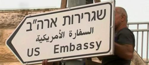 In 2018, the US embassy was moved from Tel Aviv to Jerusalem by then-President Donald Trump. [©DW News/YouTube]