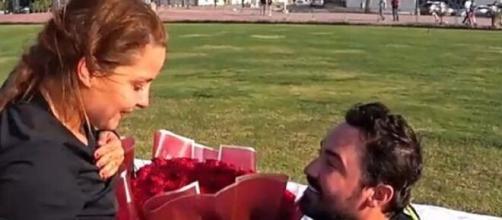 Maiara aceita pedido de casamento de Fernando Zor. (Reprodução/Instgaram/@maiara)