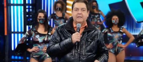 O quadro foi apresentado por Faustão. (Reprodução/TV Globo)