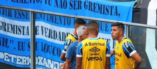 Pinares se recusou a entrar no jogo contra o Santos. (Arquivo Blasting News)