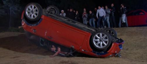 Frederico morre no acidente. (Divulgação/Televisa)