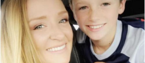 Maci Bookout attempts to help son Bentley cope with relationship with dad, Ryan Edwards. (©Maci Bookout/Instagram)