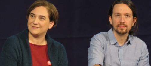 Pablo Iglesias y Ada Colau creen que es necesario un Gobierno de izquierda en Cataluña