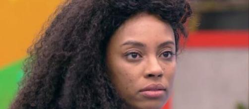 'BBB21': Lumena é criticada por famosos. (Reprodução/TV Globo)