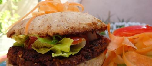 Hamburguesa vegana para nutrirse sin culpas