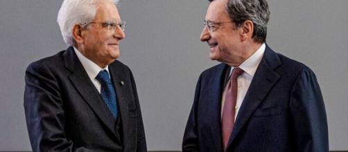 Sergio Mattarella e Mario Draghi.