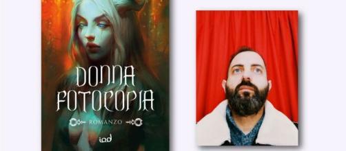 Leandro Capasso e il suo nuovo romanzo 'Donna fotocopia'.