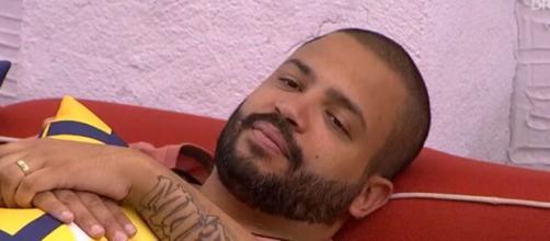 Projota no 'BBB21'. (Foto: Globo).