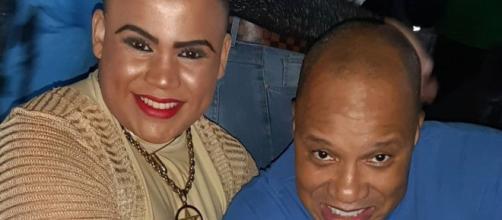 Anderson e MC Maylon, pagodeiro nega o abuso do cantor e dançarino. (Foto: Arquivo Blastingnews)