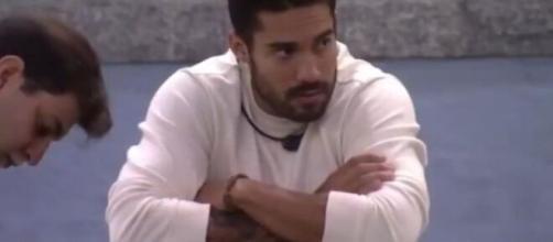 Arcrebiano está emparedado no 'BBB 21'. (Reprodução/TV Globo)