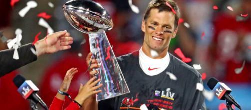 Brady llegó ya a 7 anillos de Super Bowl.