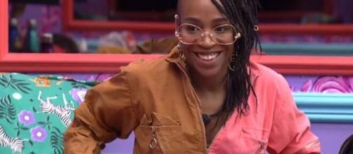 Karol quer saída de Gilberto no 'BBB21'. (Reprodução/TV Globo)