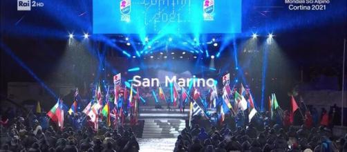La cerimonia di apertura dà il via ai mondiali di sci alpino a Cortina d'Ampezzo.