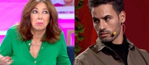 Ana Rosa Quintana y Asraf Beno