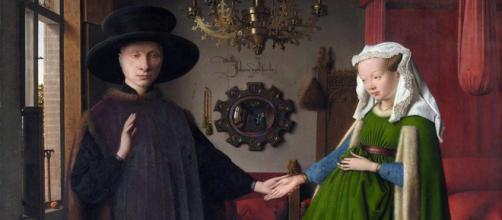 Jan van Eyck's The Arnolfini Portrait [©Flickr Gandalf's Gallery]
