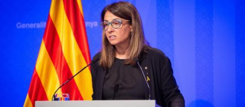 """Meritxell Budó dice que el Govern aboga por la defensa de """"los derechos políticos"""" de los catalanes"""