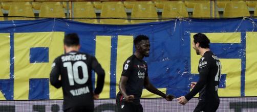 Serie A, Parma-Bologna 0-3: segnano due volte Barrow e Orsolini.