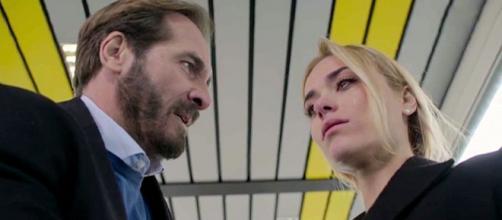 Un posto al sole, Alberto (Maurizio Aiello) e Clara (Imma Pirone).