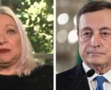 Maria Giovanna Maglie; Mario Draghi.