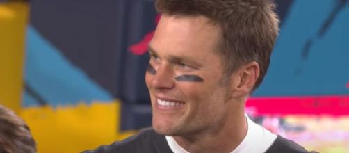 Brady was taken 199th overall by the Patriots in 2000 (Image source: NFL/YouTube)