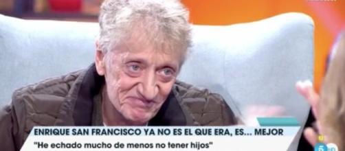 Enrique San Francisco, en el programa 'Viva la vida'