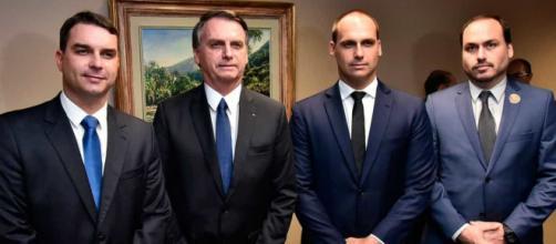 Família Bolsonaro faz críticas ao isolamento social. (Arquivo Blasting News)