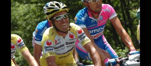Gilberto Simoni, vincitore di due Giro d'Italia