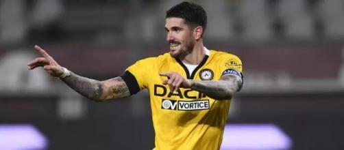 Il centrocampista dell'Udinese Rodrigo De Paul