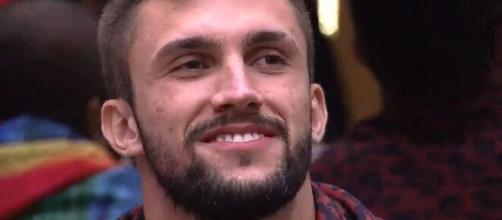 Arthur acredita estar certo no 'BBB21' (Reprodução/TV Globo)