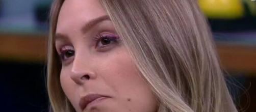 Carla no quarto secreto do 'BBB 21' (Reprodução/TV Globo)