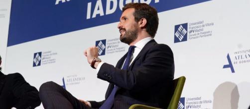 El dirigente del PP, Pablo Casado, aboga por la unidad de la centroderecha española (Twitter, @pablocasado_)